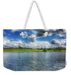 Across The Lake Weekender Tote Bag by Isabella F Abbie Shores FRSA