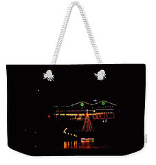 Across The Lake Weekender Tote Bag