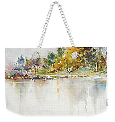 Across The Pond Weekender Tote Bag