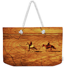 Across The Prairie Weekender Tote Bag