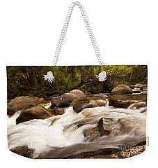 Across The St. Vrain Weekender Tote Bag