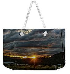 Across The Tracks Weekender Tote Bag