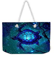 Across The Universe Weekender Tote Bag by Leanne Seymour