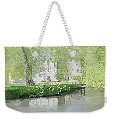 Across The Water Weekender Tote Bag