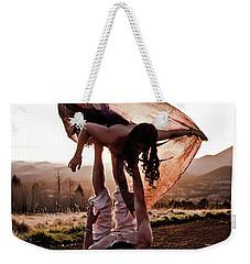Acroyoga Curves Weekender Tote Bag