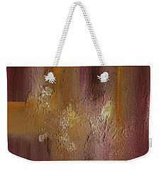 Acrylic Abstract Painting Clouds Weekender Tote Bag