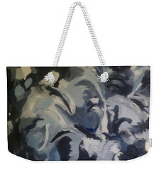 Acrylic Blues Weekender Tote Bag