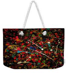 Acrylic Paint Weekender Tote Bag