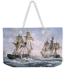 Action Between U.s. Sloop-of-war 'wasp' And H.m. Brig-of-war 'frolic' Weekender Tote Bag