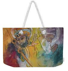 Action In Peace Weekender Tote Bag