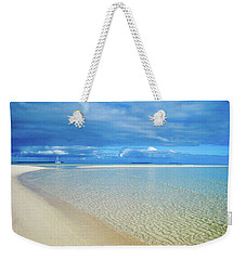 Adagio Alone In Ouvea, South Pacific Weekender Tote Bag