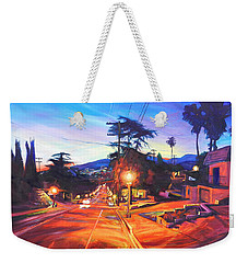 Twilight Passion Weekender Tote Bag by Bonnie Lambert