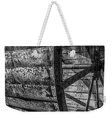 Weekender Tote Bag featuring the photograph Adam's Mill Water Wheel by Melissa Lane