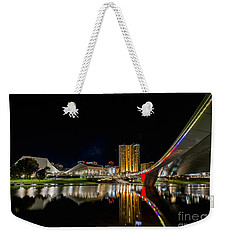 Adelaide Riverbank Weekender Tote Bag by Ray Warren