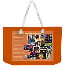 Adenike My Crown Is Precious Weekender Tote Bag