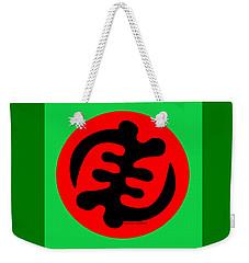 Adinkra Symbol Gye Nyame Except God Only God Weekender Tote Bag