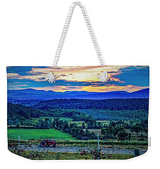 Weekender Tote Bag featuring the photograph Adirondack Country by Kendall McKernon