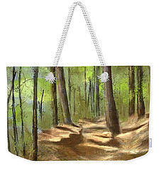 Adirondack Hiking Trails Weekender Tote Bag