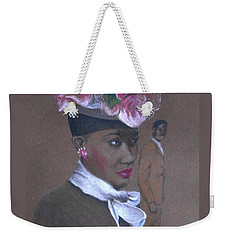 Admirer, 1947 Easter Bonnet -- The Original -- Retro Portrait Of African-american Woman Weekender Tote Bag