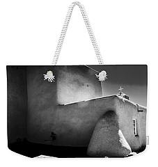 Adobe Church In B-w Weekender Tote Bag