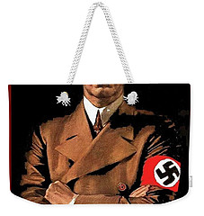 Adolf Hitler Painting Circa  1940 Color Added 2016 Weekender Tote Bag