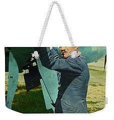 Adolf Weekender Tote Bag