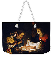 Adoration Of The Child Weekender Tote Bag