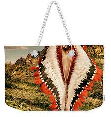 Adorned Feathered Nude Weekender Tote Bag