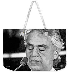 Andrea Bocelli In Concert Weekender Tote Bag
