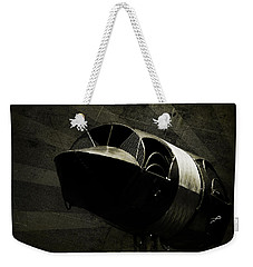 Weekender Tote Bag featuring the photograph Adrenaline by Rebecca Sherman