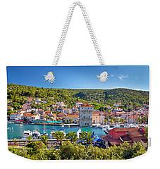 Adriatic Village Of Marina Near Trogir Weekender Tote Bag