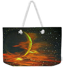 Adrift - In Space Weekender Tote Bag