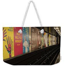 Ads Underground Weekender Tote Bag