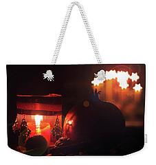 Cozy Advent Weekender Tote Bag