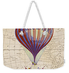 Weekender Tote Bag featuring the photograph Adventure Awaits by Delphimages Photo Creations