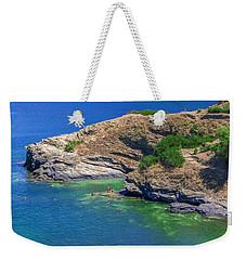 Aegean Coast In Bali Weekender Tote Bag