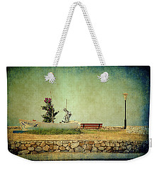 Aegean Sea Composition Weekender Tote Bag