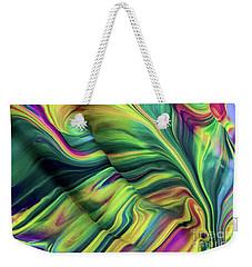 Aegean Wave Weekender Tote Bag