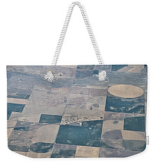 Weekender Tote Bag featuring the photograph Aerial 1 by Steven Richman