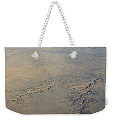 Weekender Tote Bag featuring the photograph Aerial 2 by Steven Richman