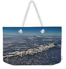 Weekender Tote Bag featuring the photograph Aerial 3 by Steven Richman