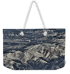 Weekender Tote Bag featuring the photograph Aerial 4 by Steven Richman