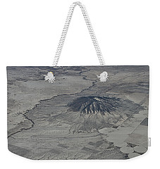 Weekender Tote Bag featuring the photograph Aerial 5 by Steven Richman
