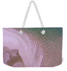 Weekender Tote Bag featuring the photograph Aerial Image Of Noosa River Fine Details by Keiran Lusk