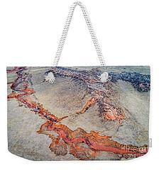 aerial landscape abstract of Colorado foothills Weekender Tote Bag