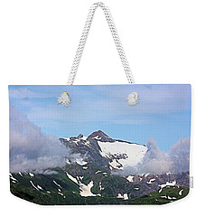 Weekender Tote Bag featuring the photograph Aerial Majesty by Kristin Elmquist