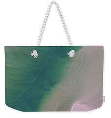 Weekender Tote Bag featuring the photograph Aerial Photo Of Noosa River In Detail by Keiran Lusk