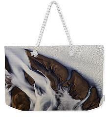 Aerial Photo Thjosa Iceland Weekender Tote Bag
