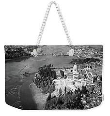 Aerial View Northward Over Olympia Weekender Tote Bag