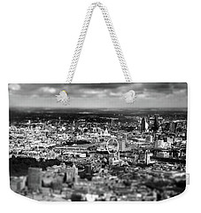 Aerial View Of London 6 Weekender Tote Bag by Mark Rogan